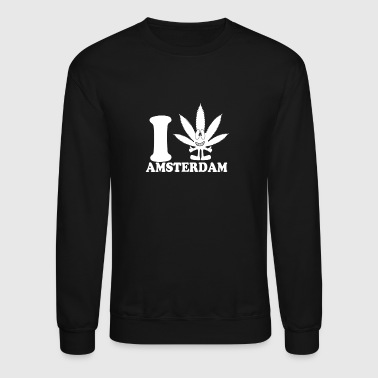 Amsterdam New Design I Love Amsterdam Best Seller - Crewneck Sweatshirt