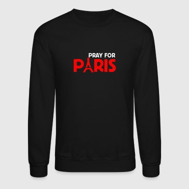Pray for Paris - Crewneck Sweatshirt