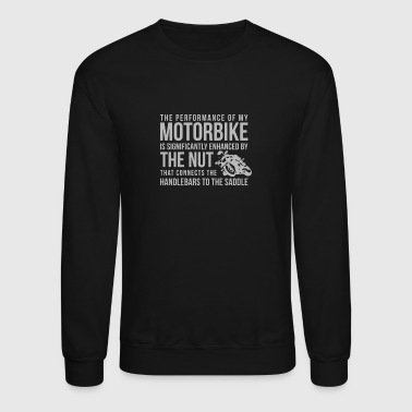 Handlebars To The Saddle - Crewneck Sweatshirt