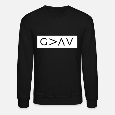 God God Is Greater Than The Highs And Lows - Unisex Crewneck Sweatshirt