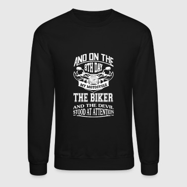 Biker - The Biker - Crewneck Sweatshirt