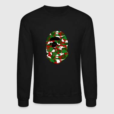 A Bathing Ape Camo Big Ape Head 2016 - Crewneck Sweatshirt