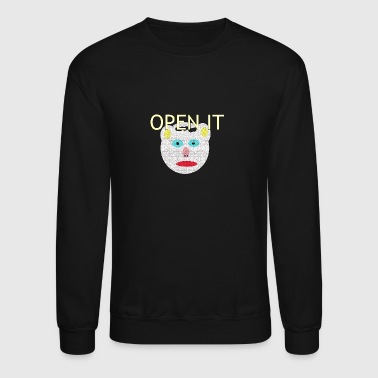 OPEN IT - Crewneck Sweatshirt