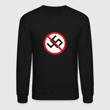 Anti-45 Against White Supremacy and the Alt Right - Crewneck Sweatshirt