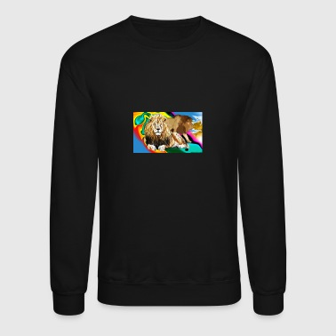 Majesty Lion Majesty - Crewneck Sweatshirt
