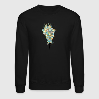 Concentric Downpour - Crewneck Sweatshirt