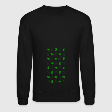 WEN in Checker - Crewneck Sweatshirt