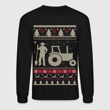 Farmer Farmer Ugly Christmas - Crewneck Sweatshirt