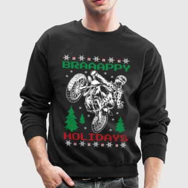 Motorcross Christmas - Crewneck Sweatshirt