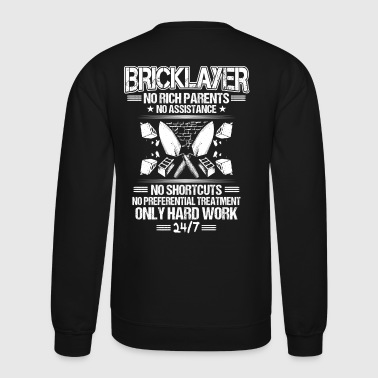 Bricklayer/Mason/Brickmason/Brickie/Gift/Hard Work - Crewneck Sweatshirt