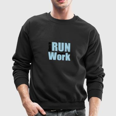 running - Crewneck Sweatshirt