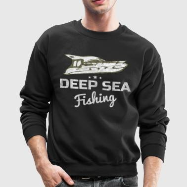 Deep Sea Fishing T Shirt - Crewneck Sweatshirt