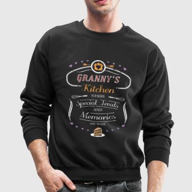 Grannys Kitchen Shirt Granny Gifts Gift For Granny - Crewneck Sweatshirt