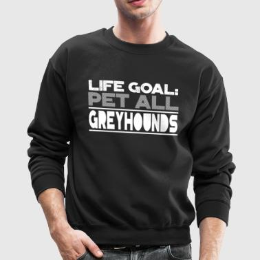 Show Dogs Greyhounds Dog Showing Gifts - Crewneck Sweatshirt