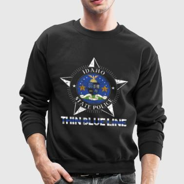 Idaho State Police Shirt Idaho State Trooper Shirt - Crewneck Sweatshirt