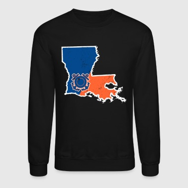 Louisiana Coast Guard Shirt Coast Guard Retired - Crewneck Sweatshirt
