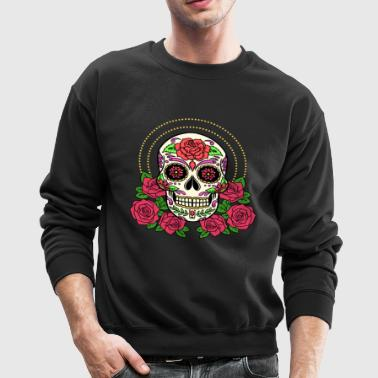Cinco De Mayo Sugar Skull Shirt - Crewneck Sweatshirt