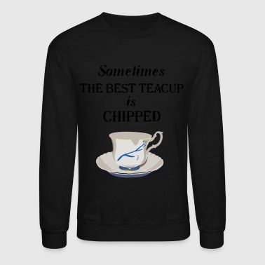 OUAT. Teacup Chipped. - Crewneck Sweatshirt