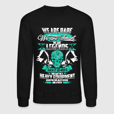 Heavy Equipment Operator Shirts - Crewneck Sweatshirt