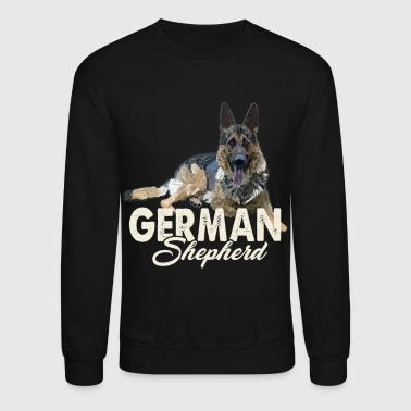 German Shepherd Shirt - German Shepherd Love Shirt - Crewneck Sweatshirt
