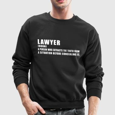 I'm A Lawyer Shirt - Crewneck Sweatshirt
