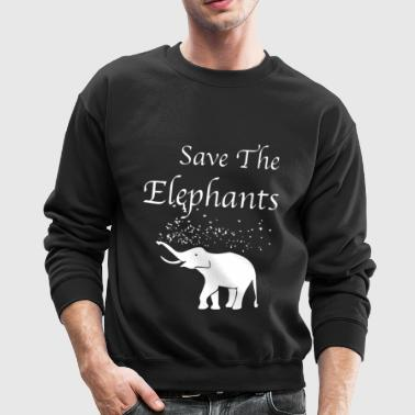 Elephants Shirts - Crewneck Sweatshirt