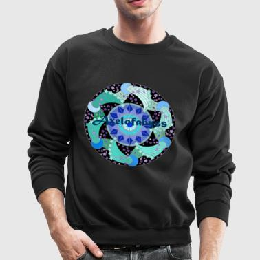 Axelofabyss The Ocean Moon - Crewneck Sweatshirt