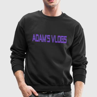 Adam's Vlogs - Crewneck Sweatshirt