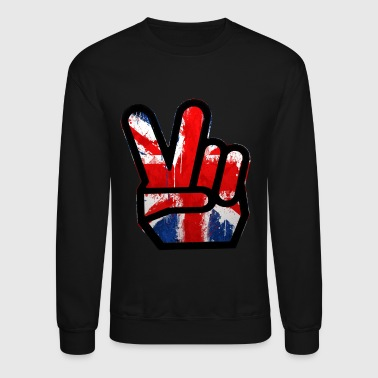 peace british - Crewneck Sweatshirt