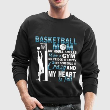 I Am A Basketball Mom T Shirt - Crewneck Sweatshirt