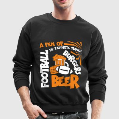 My Favorite Thing Is Football T Shirt - Crewneck Sweatshirt