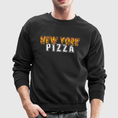 New York Pizza Shirt Pizza Lover Shirt I Love NY NYC Shirt - Crewneck Sweatshirt