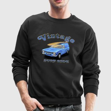 escort panel van Vintage Surf Ride - Crewneck Sweatshirt