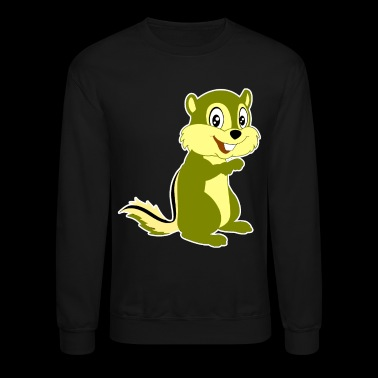 Chipmunk Shirt - Crewneck Sweatshirt