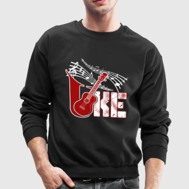 STAR UKULELE SHIRT - Crewneck Sweatshirt