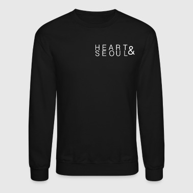 Heart & Seoul in White - Crewneck Sweatshirt