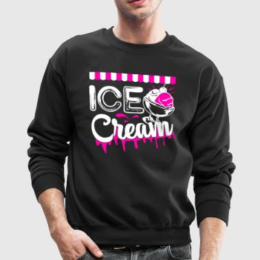 Ice Cream T shirt - Crewneck Sweatshirt