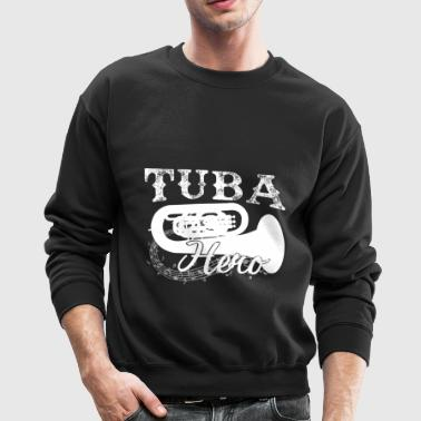 Tuba Hero Shirt - Crewneck Sweatshirt