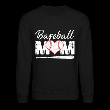 Baseball Mom Shirt for Women Baseball Mom Life - Crewneck Sweatshirt