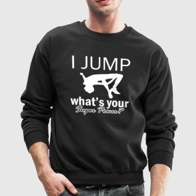 high jump design - Crewneck Sweatshirt