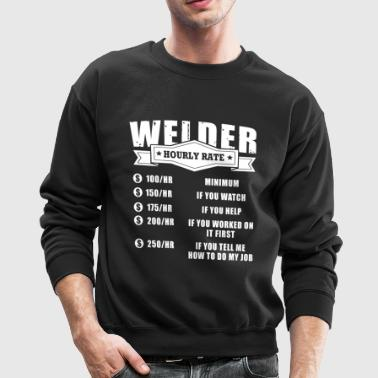 Welder Rate T-Shirts - Crewneck Sweatshirt