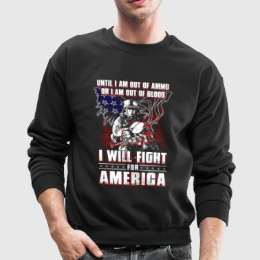 Until I Am Out Of Ammo Navy Seabee - Crewneck Sweatshirt