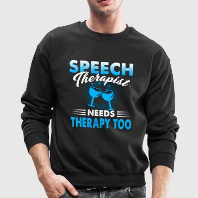 Speech Therapist Shirt - Crewneck Sweatshirt