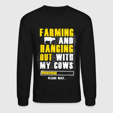 Farming and hanging T Shirts - Crewneck Sweatshirt