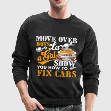 Car Mechanic Shirt - Crewneck Sweatshirt