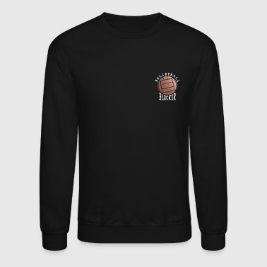 Rose Gold Volleyball Blocker - Crewneck Sweatshirt