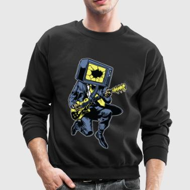 TV Rock n Roll - Crewneck Sweatshirt