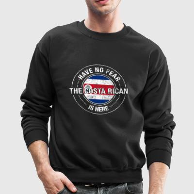 Have No Fear The Costa Rican Is Here - Crewneck Sweatshirt