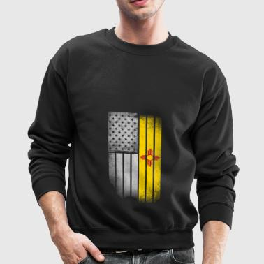 USA Vintage New Mexico State Flag - Crewneck Sweatshirt