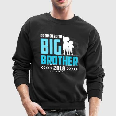 Promoted To Big Brother 2018 T-Shirt Gift Boys Kid - Crewneck Sweatshirt